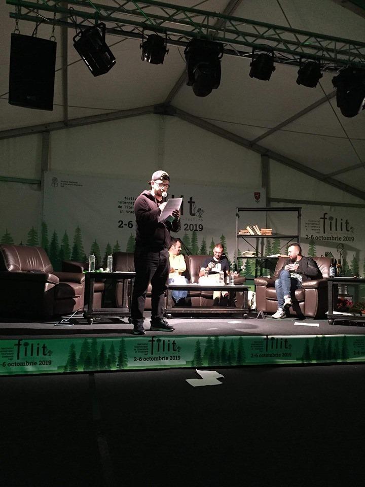 Andrei Zbirnea la Maratonul de poezie de la FILIT